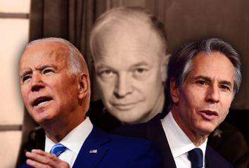 Joe Biden; Antony Blinken; Dwight Eisenhower