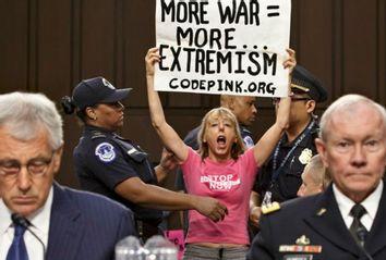 War makes terrorism; CODEPINK