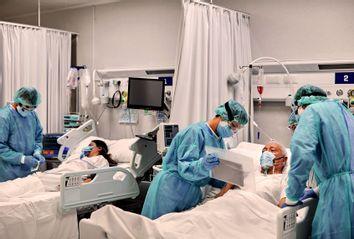 COVID-19; Hospital ward