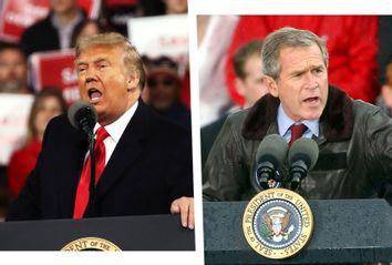 Donald Trump; George W. Bush
