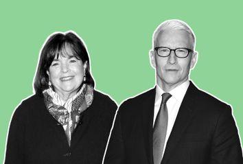 Ina Garten; Anderson Cooper