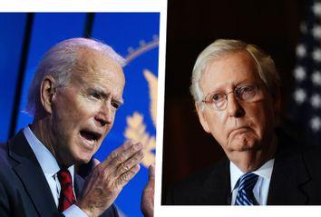 Joe Biden; Mitch McConnell