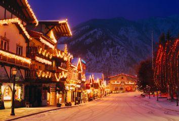 Washington, Leavenworth In Winter