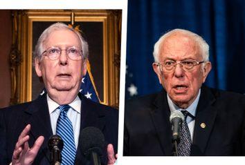 Mitch McConnell; Bernie Sanders