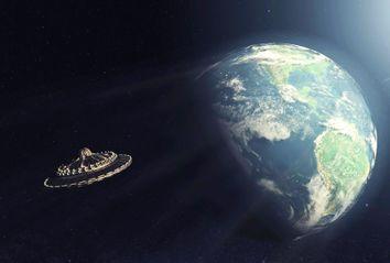 UFO; Earth