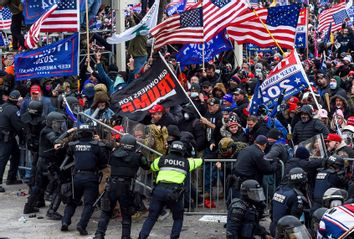 Capitol Riot; Police; Trump Supporters