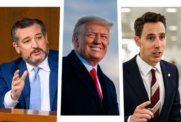 Ted Cruz; Donald Trump; Josh Hawley