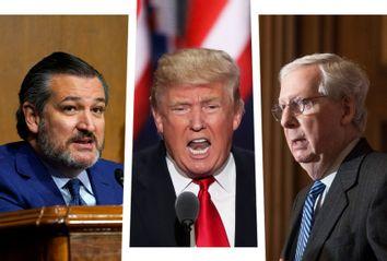 Ted Cruz; Donald Trump; Mitch McConnell