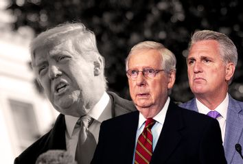 Donald Trump; Mitch McConnell; Kevin McCarthy