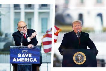 Donald Trump; Rudy Giuliani