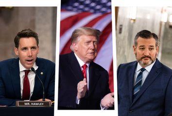 Josh Hawley; Donald Trump; Ted Cruz