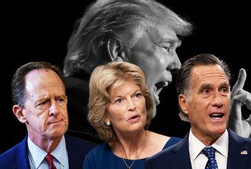 Donald Trump; Lisa Murkowski; Mitt Romney; Pat Toomey