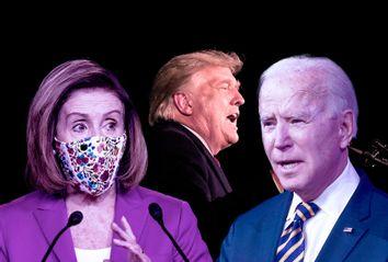 Nancy Pelosi; Joe Biden; Donald Trump