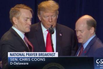 Donald Trump; National Prayer Breakfast
