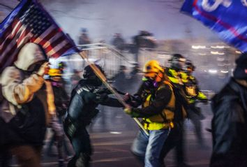 Washington DC; Police; Trump Supporters