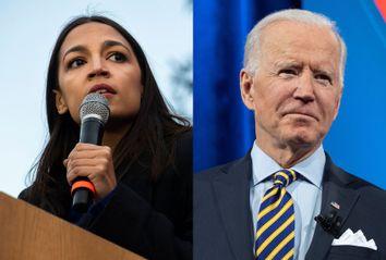 Alexandria Ocasio-Cortez; Joe Biden