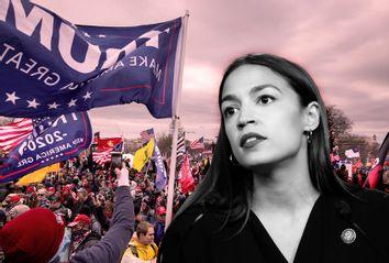 Alexandria Ocasio-Cortez; Capitol Riot