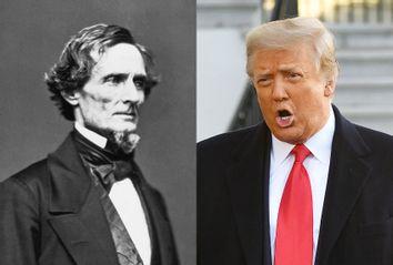 Jefferson Davis; Donald Trump