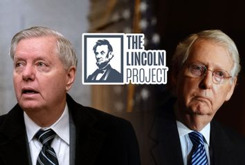 Lindsey Graham; Mitch McConnell; The Lincoln Project