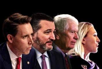 Ted Cruz; Josh Hawley; Mo Brooks; Marjorie Taylor Greene