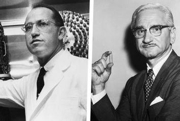 Jonas Salk; Albert Sabin