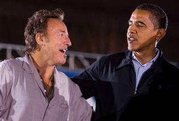 Barack Obama; Bruce Springsteen