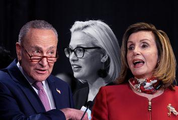 Nancy Pelosi; Chuck Schumer; Kyrsten Sinema