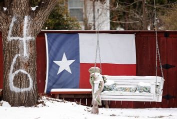 Texas; Snow Storm