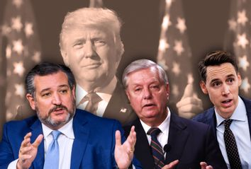Ted Cruz; Lindsey Graham; Josh Hawley; Donald Trump