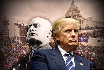 Donald Trump; Benito Mussolini