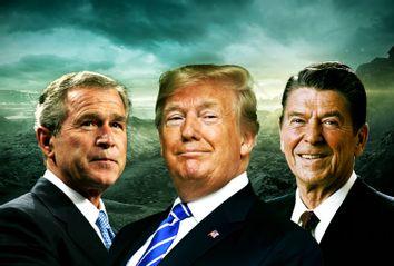 George W. Bush; Donald Trump; Ronald Reagan