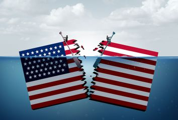 Divided United States and partisan politics