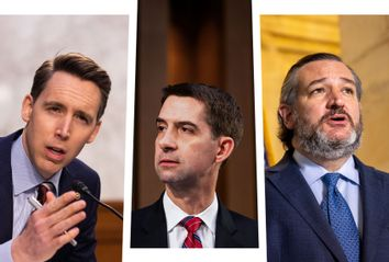 Josh Hawley; Tom Cotton; Ted Cruz