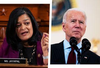 Pramila Jayapal; Joe Biden