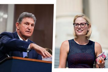 Joe Manchin; Kyrsten Sinema