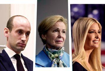 Stephen Miller; Deborah Birx; Ivanka Trump