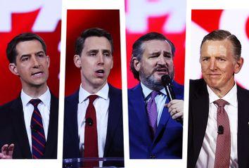 Tom Cotton; Josh Hawley; Ted Cruz; Paul Gosar