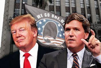 Donald Trump; Tucker Carlson; QAnon