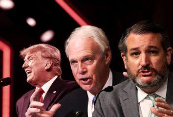 Donald Trump; Ted Cruz; Ron Johnson