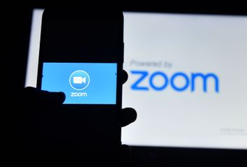 Zoom video conference app