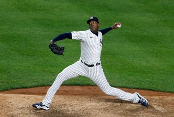New York Yankees' Aroldis Chapman
