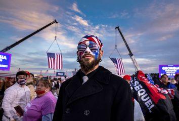 Capitol Riot; Trump Supporter; QAnon Shaman