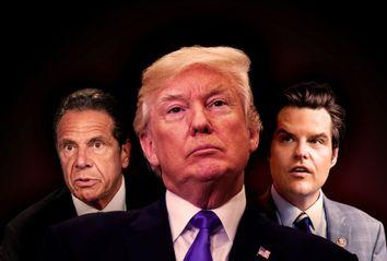Donald Trump; Andrew Cuomo; Matt Gaetz