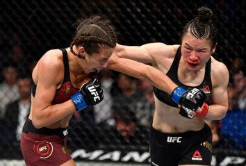 Joanna Jedrzejczyk; Zhang Weili; UFC