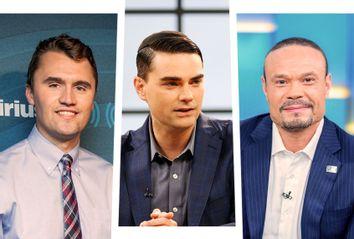 Charlie Kirk; Ben Shapiro; Dan Bongino