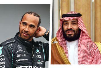 Lewis Hamilton; Mohammed bin Salman