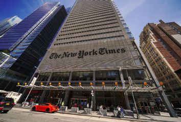 The New York Times Building Headquarters
