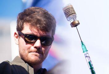 Nick Fuentes; COVID-19 Vaccine