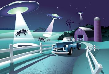 Aliens; UFO; Beef