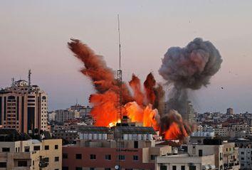 Israel; Palestine; Gaza; Airstrike
